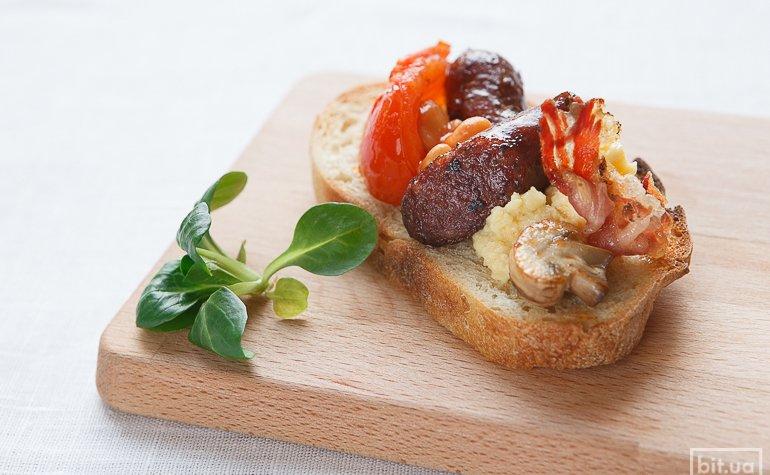 бутерброд «Английский завтрак»
